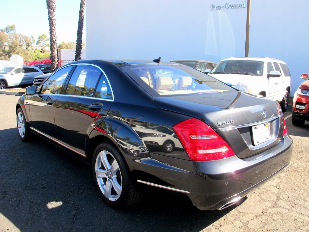 Pre-Owned 2013 Mercedes-Benz S-Class S 550